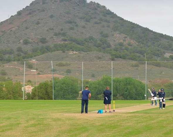 Cricket en La Manga Club