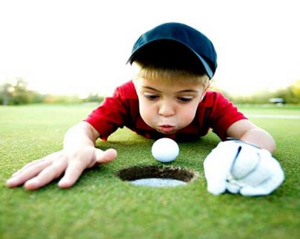 Golf for children in English at La Manga Club