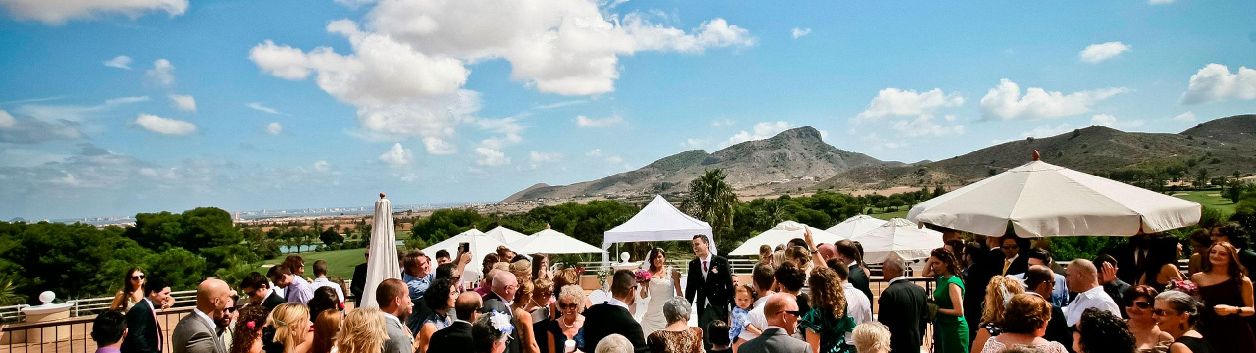 Weddings and Corporate Events la manga club